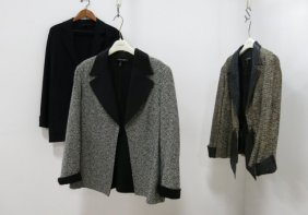 3 Escada Wool Jackets