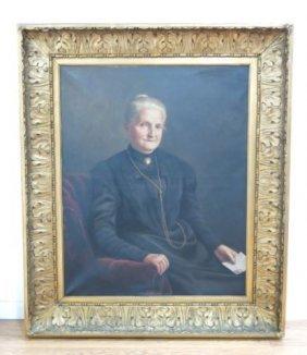 Carl Johann Spielter, Portrait Of Lady
