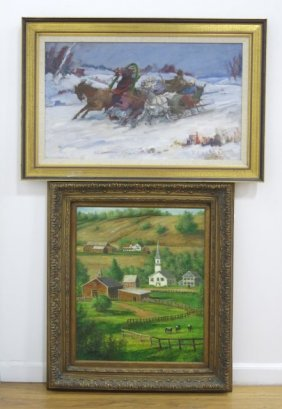 P. Smithson, Rural Landscape & Troika