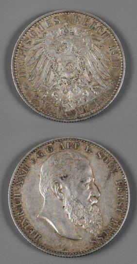 Zwei Mark Reu 1901