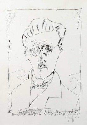 "Horst Janssen, ""james Joyce"""