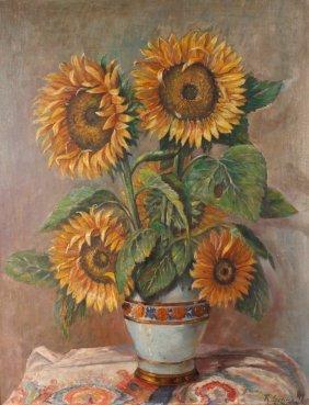 H. Schneider, Sonnenblumen