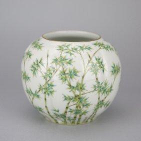 Chinese Doucai Porcelain Water Pot
