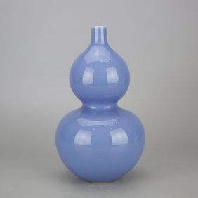 Chinese Double Gourd Porcelain Vase