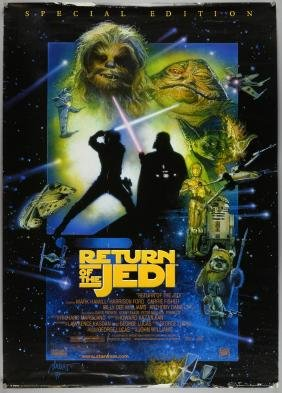 Star Wars 1998 Gb Posters Including A Ne