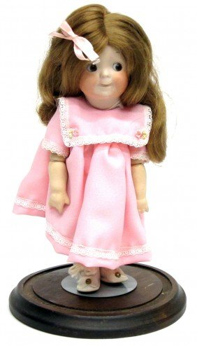 GOOGLY GERMAN BISQUE DOLL