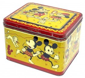 MICKEY MINNEY MOUSE TIN