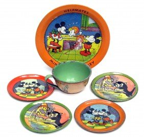 MICKEY MOUSE & DISNEY TABLEWARE