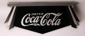 1932 Coca-Cola Hanging Fan Sign