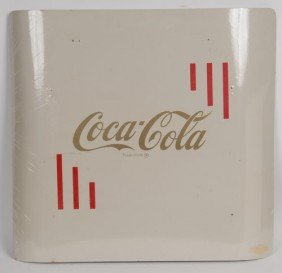 UNUSUAL COCA-COLA FOLDING MUSIC STAND