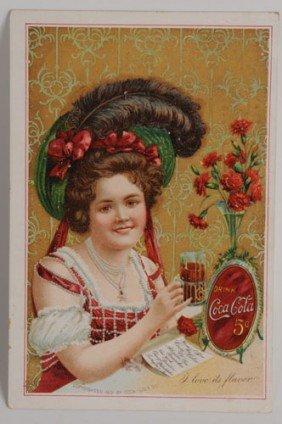 1902 COCA-COLA MENU CARD