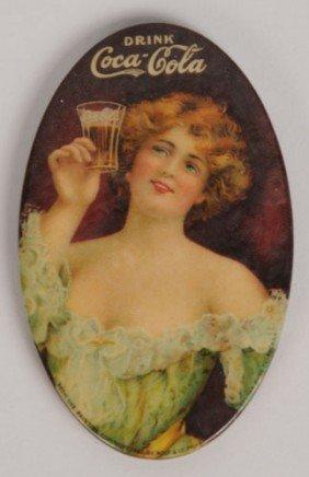 1907 COCA-COLA POCKET MIRROR