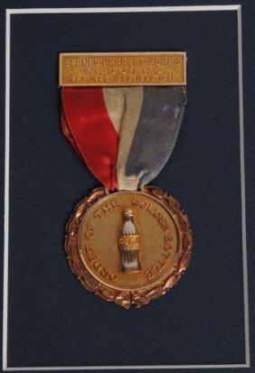 1927-1931 GOLDEN BOTTLE AWARD