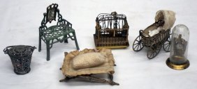 Doll House Miniature Accessories (6)