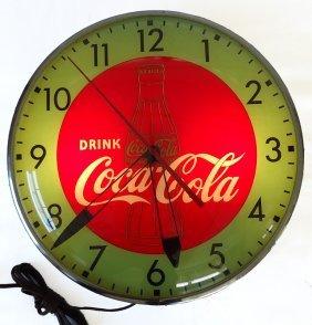 COCA-COLA CLOCK 1948
