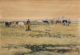 On The Field, 1910