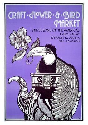 """""""craft Flower & Bird Market"""" (1972)"""