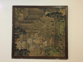 Chinese Painting Framed