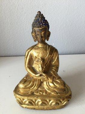 Tibet Gilt Bronze Buddha