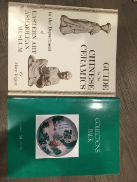 Two Illustrated Catalogue Of Chinese Porcelain1966 1994