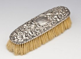 Dominick & Haff Sterling Repousse Brush