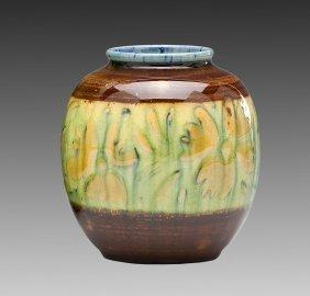 Rookwood Vase 6183f By Elizabeth Barrett