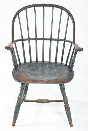 Pennsylvania Windsor Bow Back Arm Chair