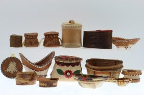 Collection Of Athabascan And Northern Woodlands Items