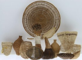 Collection Of Central And Northern California Basketry