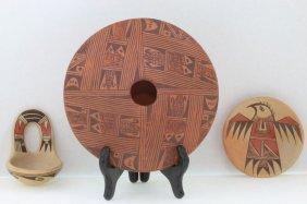 Three Hopi Polychrome Items