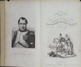 Heweston. History Of Napoleon Bonaparte. 1841-42.