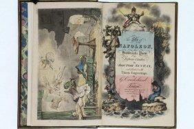 Combe. The Life Of Napoleon. 1815. By Cruikshank.