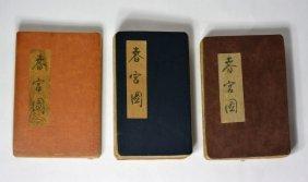 Three Of Chinese Erotic Book