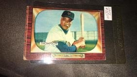 1955 Bowman Hank Thompson Vintage Baseball Card