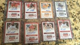 Lot Of 8 2017 Contenders Football Rc Autos Rogers