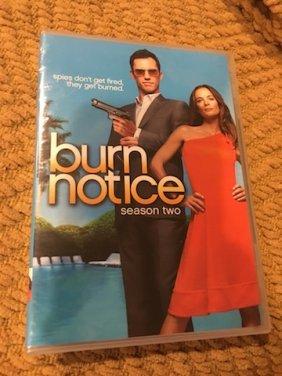 Burn Notice Season Two Sealed Dvd Set 4 Disc Set