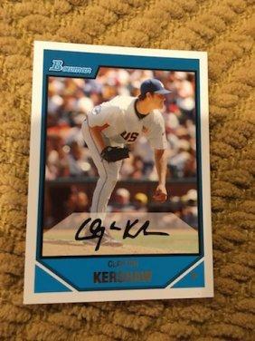 2007 Bowman Draft Prospect #bdpp77 Clayton Kershaw
