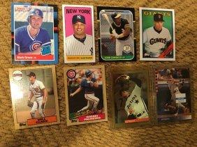 Mixed Star Baseball Card Lot With Rc's Palmer Clark