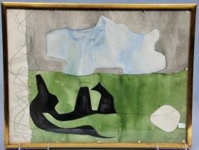 William Baziotes. Primeval Landscape. 1958. Water
