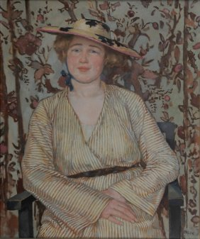 Young Lady With Hat, C1910/15
