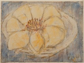 'Lotus Flower In A Bowl', 1933
