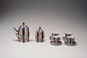 Mocha Set For Four Persons, 1920-25