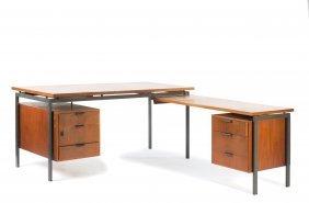 'set' Writing Desk With Typewriter Desk, 1963-64