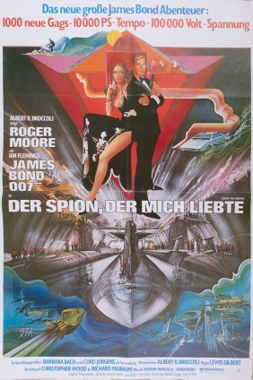 German 'james Bond - Der Spion Der Mich Liebte', Movie