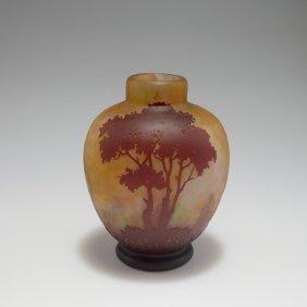 'paysage Lacustre' Vase, 1910