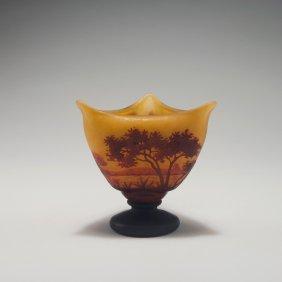 'paysage Lacustre' Vase, C1910