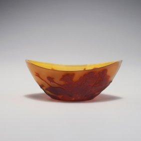 'cerisiers' Bowl, C1910