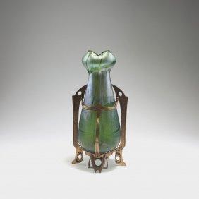 Vase With Metal Mounting, 1900-05