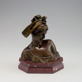 Young Woman's Bust, C1900