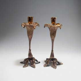 Two Candlesticks, C1900